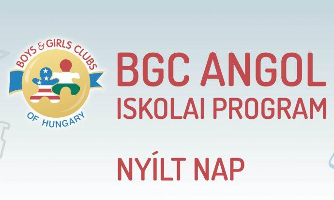 Nyílt nap a BGC Angol Napköziben
